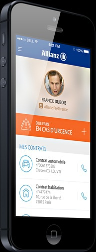 Application Mon Allianz mobile