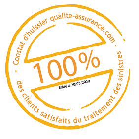 95% satisfaction du traitement des sinistres 2018
