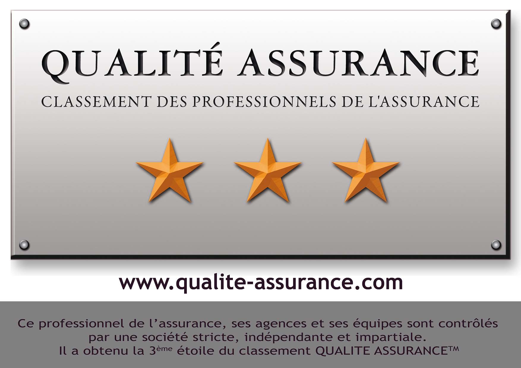 *** Qualité Assurance